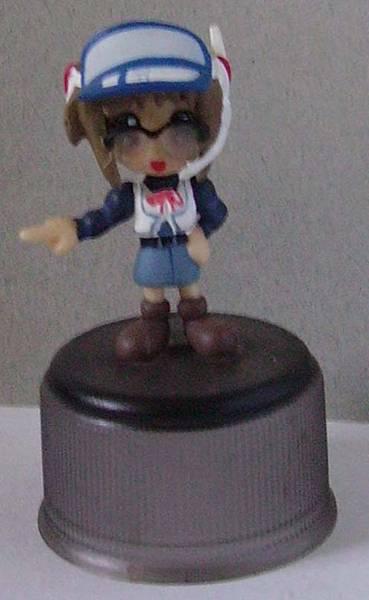 Yujin 盒玩  Comic Party 人物瓶蓋系列(復刻)  牧村 南(有眼鏡)(隱版)