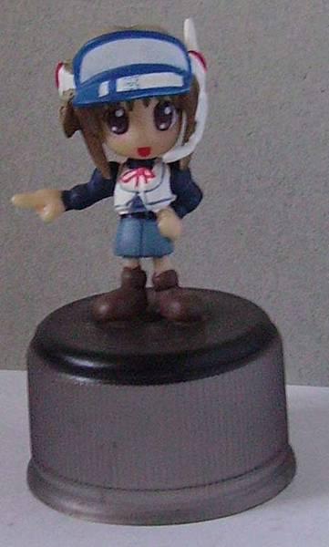 Yujin 盒玩  Comic Party 人物瓶蓋系列(復刻)  牧村 南(無眼鏡)(隱版)