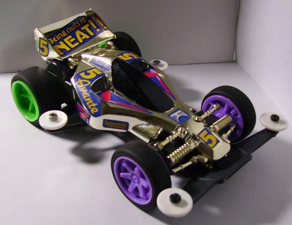 ITEM 93001 アバンテJr.チャンピオンズゴールドモデル(前衛者Jr.冠軍金色模型組)