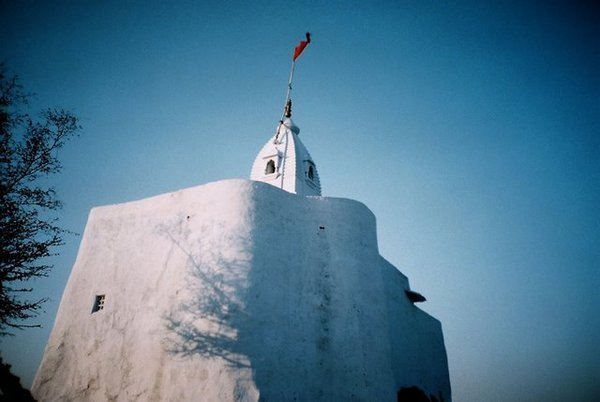 pushkar山頂小廟