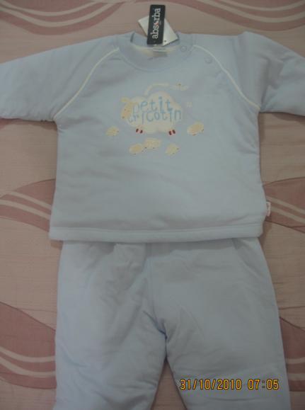 2010-10-30 小沛沛奇哥藍色鋪棉衣.JPG