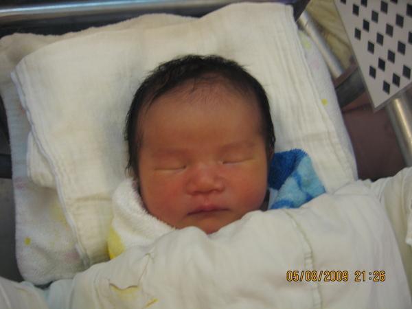 2009-08-05 Baby大頭照.JPG