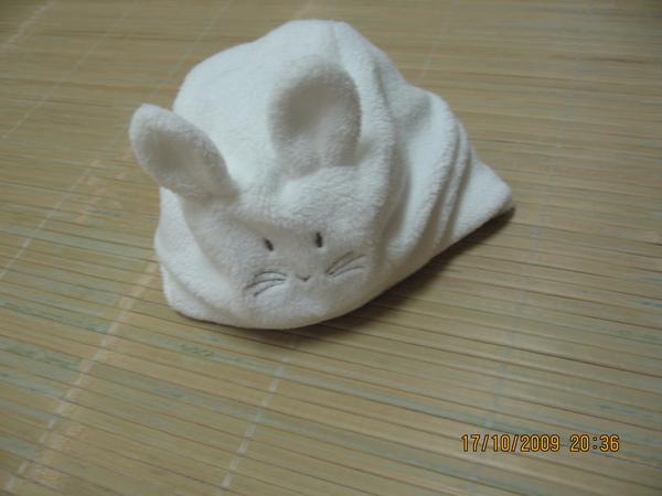 2009-10-18 小沛沛姑姑們買的小帽子.JPG