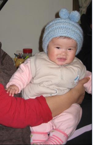 阿嬤買的新帽子~卡哇伊.JPG