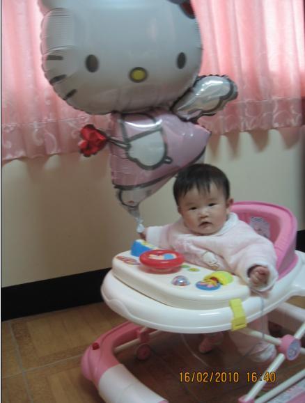 2010-02-16 溜hello kitty的沛沛 1.JPG
