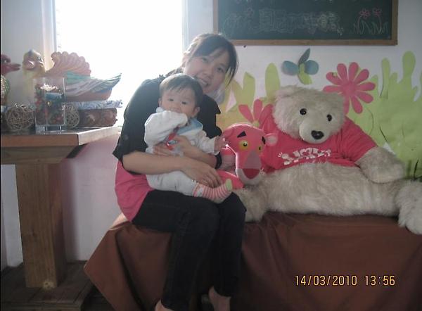 2010-03-14 東尼咖啡北極熊.JPG