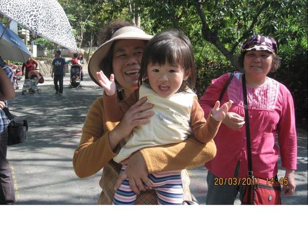 2011-03-20 壽山動物園-真的很開心唷.JPG