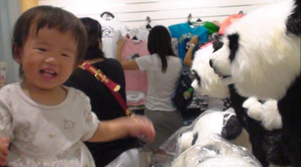 2010-08-22 小沛沛與貓熊相見歡.JPG