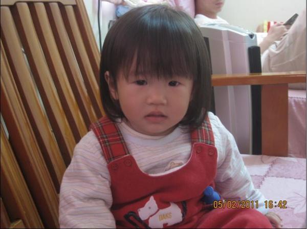 2011-02-05 過新年了~我們家小沛沛是不是越來越漂亮了ㄋ.JPG