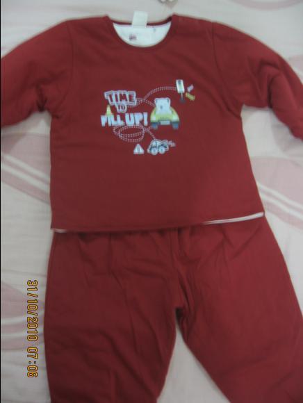 2010-10-30 小沛沛奇哥紅色鋪棉衣.JPG