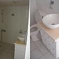 浴室,未來會新增浴缸