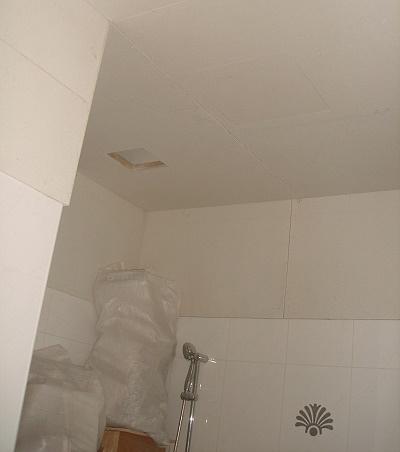 淋浴處上方加開抽風孔