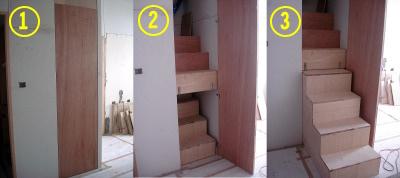 樓梯(連續動作)