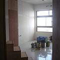 客廳(樓梯是拿出來批土,並不是真的在那邊)