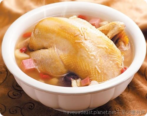 干貝金華燉雞湯