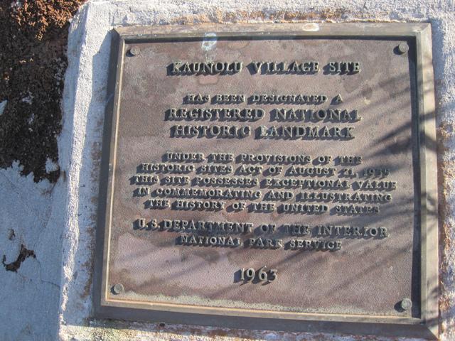 Lanai-Kaunolu-NHL-plaque
