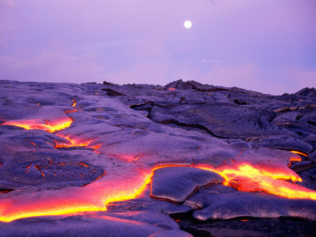 Kilauea Volcano - Hawaii Volcanoes National Park - Hawaii