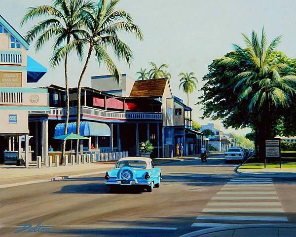 downtown-lahaina-maui-frank-dalton