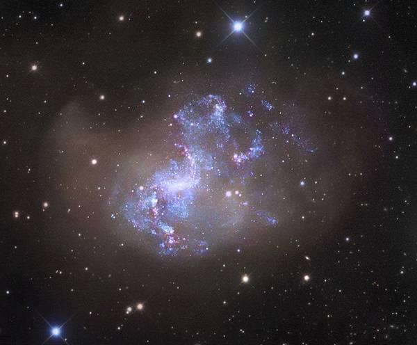 星爆星系NGC 1313