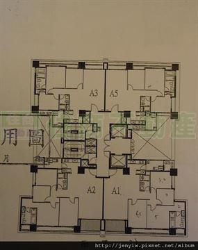 雲世紀B6高樓格局圖