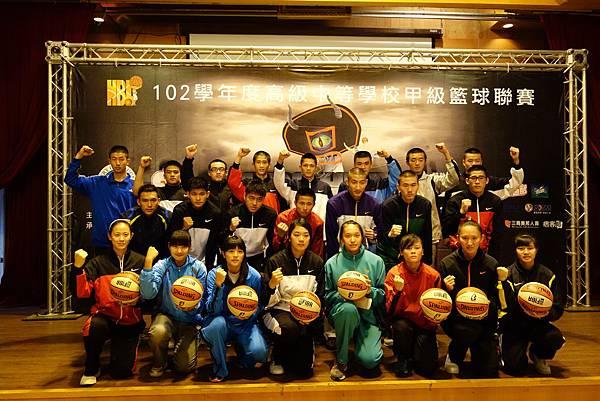 102學年度HBL HERO預賽記者會