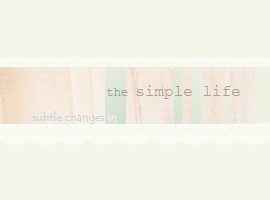 simple life