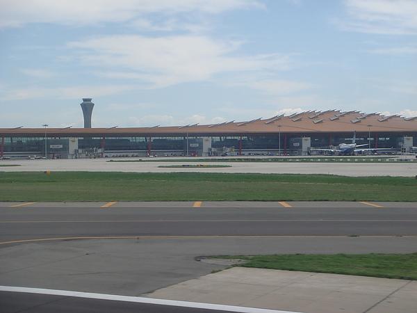 北京首都機場龍麟狀的設計.JPG