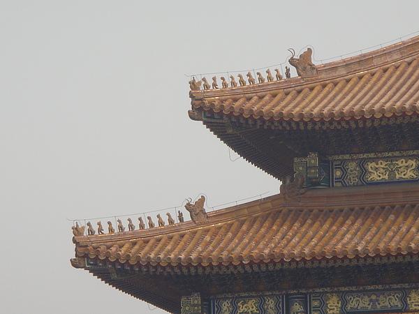 太和殿的檐角有10個走獸.JPG