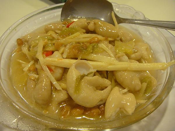 薑絲大腸~$150.JPG