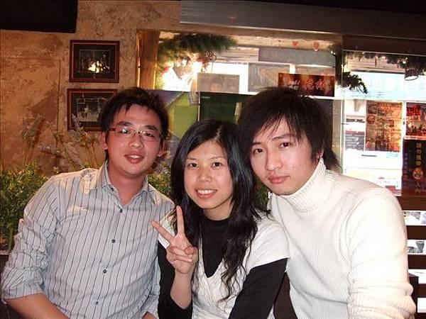 我們三個全員到齊~很照顧人的貼心學伴^^