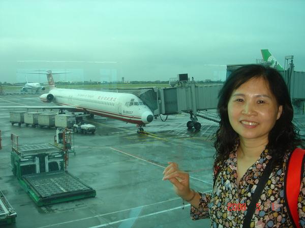 這是今天要坐去濟州的EF702
