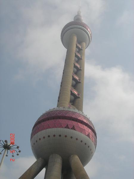 亞洲第一高的東方明珠電視塔