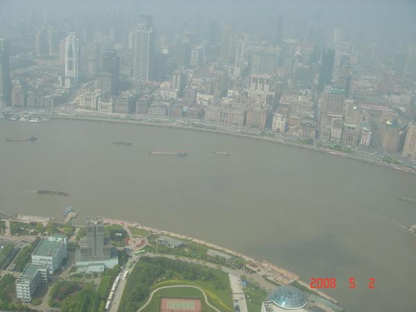 黃浦江及外灘沿岸