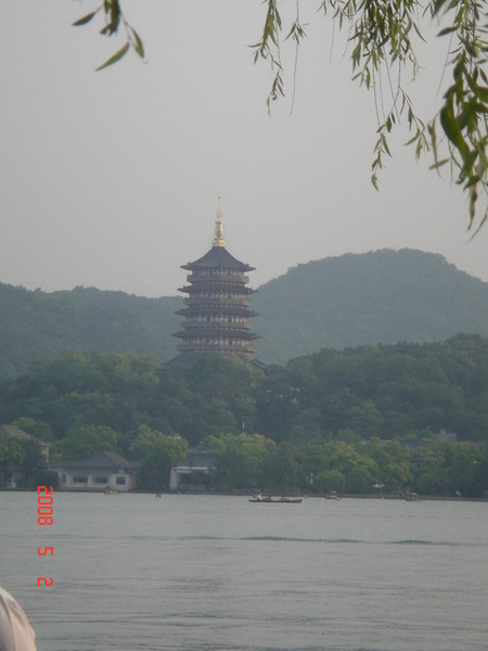 西湖十景之一~雷峰夕照(沒拍到夕陽^^)