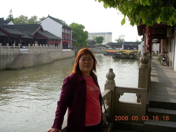 所謂到客船..就是寺前的這條河