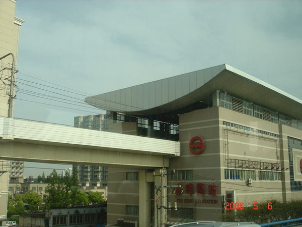上海的地鐵赤峰路站