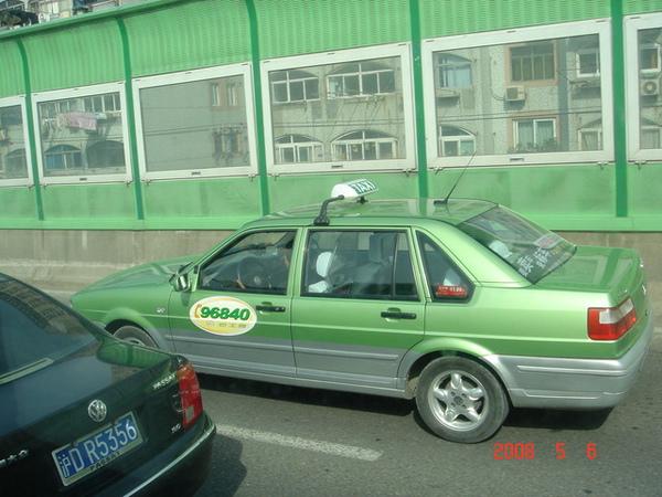 上海的計程車
