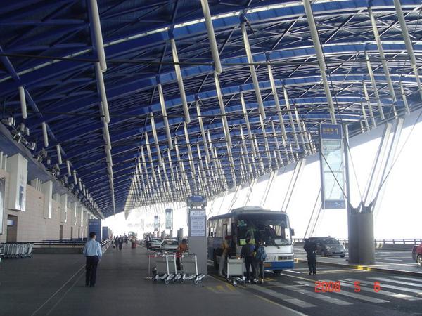 浦東機場第一航廈出境大廳