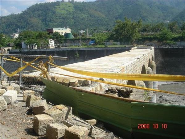 糯米橋已經受損封起來了