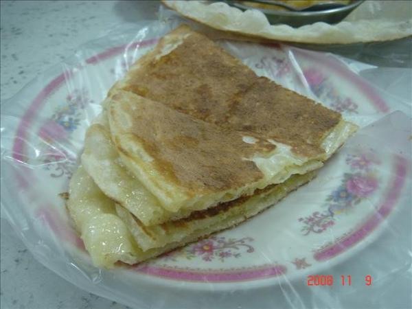 奶油烤餅~唯一的甜食