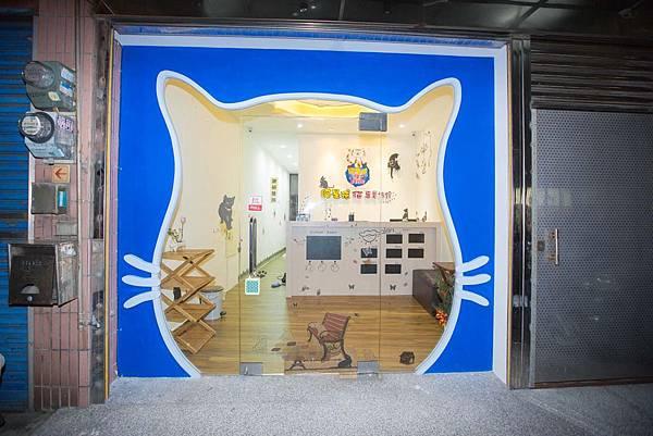 貓旅館貓頭大門
