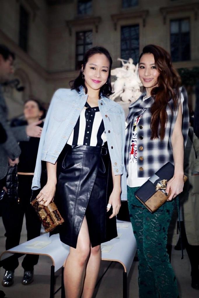 20170308 田馥甄 hebe 路易威登 LV women fashion f:w show hc group 04.jpg