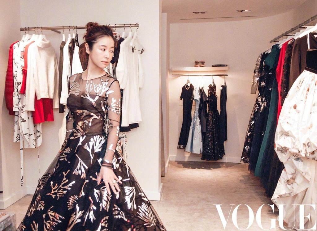 20180911 林心如 Vogue 紐約時裝周 Oscar de la Renta 林心如紐約時尚日記 hc group 02.jpg