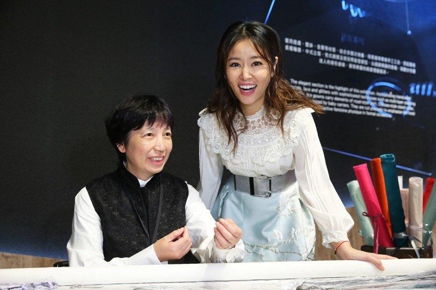 20190509 林心如 shiatzy chen 夏姿陳 «針間絮語» 開幕活動 hc group 05.jpeg