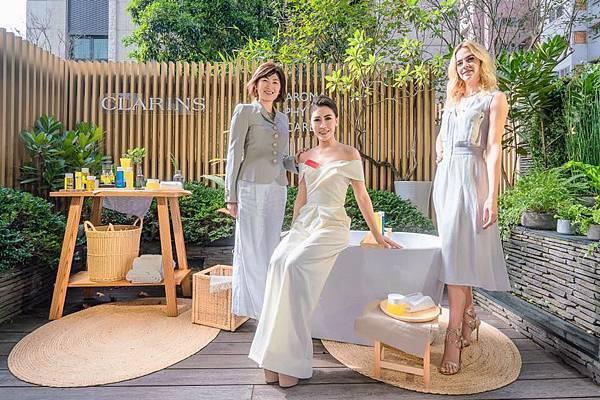 20200108 艾怡良 克蘭詩 clarins skin spa開幕記者會 janice by hc group 12.jpg