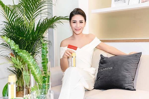 20200108 艾怡良 克蘭詩 clarins skin spa開幕記者會 janice by hc group 06.jpg