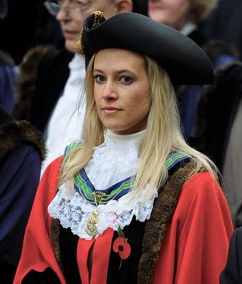 (c) INS News Agency Ltd... 23/04/2010<br /> The youngest Mayor in the country, Catherine Bursnall, 29, who is the Mayor of Windsor, <br /> See Copy INSmay