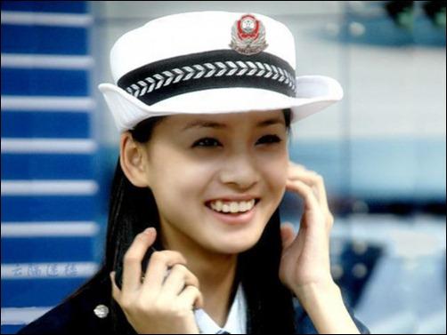 各國美女交警