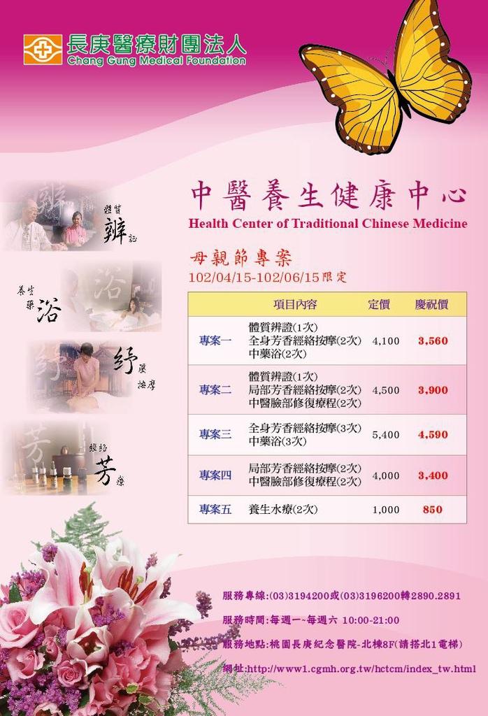 102中醫養生母親節專案