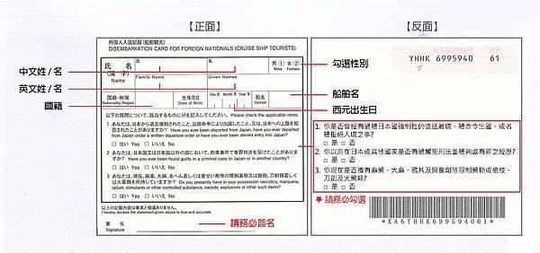 日本ED CARD